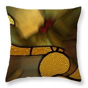Stained Glass Lc 02 Throw Pillow