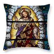Stained Glass Pc 04 Throw Pillow