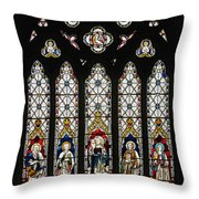 Stained-glass Window 1 Throw Pillow