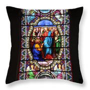 Stained Glass Window Viii Throw Pillow