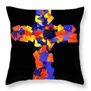 Stained Tries 16 Throw Pillow