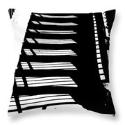 Stair Shadow Throw Pillow
