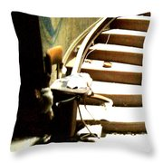Staircase Going Up Throw Pillow