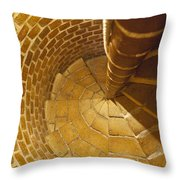Staircase In Stone Throw Pillow