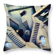 Staircase Throw Pillow