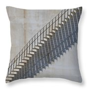 Stairs And Shadows 1 Throw Pillow