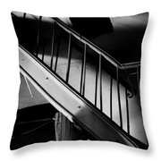 Strange Stairs Throw Pillow