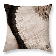 Stairs At Maymont Throw Pillow