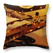 Stairs To The Stars Throw Pillow