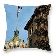 Stairs To The Top Throw Pillow