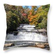 Stairway Falls Throw Pillow