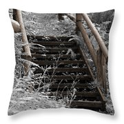Stairway Home Throw Pillow