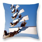 Stairway To Another Dimension Throw Pillow