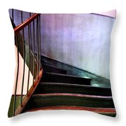 Stairway To Cezanne Atelier Throw Pillow