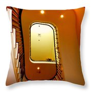 Stairway To Heaven Throw Pillow by Karen Wiles