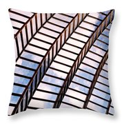 Stairway To Heaven Throw Pillow by Rona Black