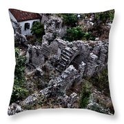 Stairway To Nowhere Throw Pillow