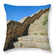 Stairway To Palamidi Throw Pillow