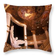 Stairway To The Angles Throw Pillow