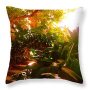 Stairway To The Top Throw Pillow