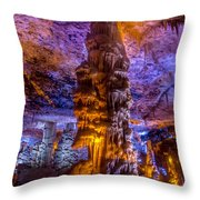 Stalactite Column Throw Pillow