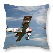 Stalked Throw Pillow by Pat Speirs