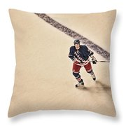 Stallzy Throw Pillow