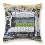 Stamford Bridge - Chelsea Throw Pillow