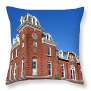 Stam's Hall Throw Pillow