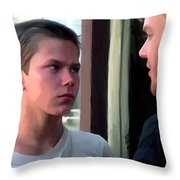 Stand By Me #1 Throw Pillow