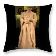 Living Statue Throw Pillow