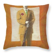 Stand Up For The Second Amendment Throw Pillow
