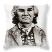 Stand Watie (1806-1871) Throw Pillow