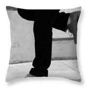 Standing Motion  Throw Pillow