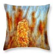Standing Out From The Crowd II Throw Pillow
