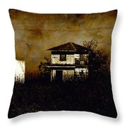 Standing Out Two Throw Pillow