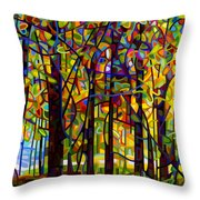 Standing Room Only Throw Pillow