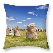 Standing Stones Throw Pillow