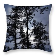Standing Talls Throw Pillow