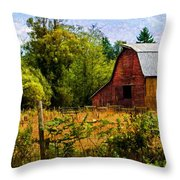 Standing The Test Of Time Throw Pillow by Jordan Blackstone