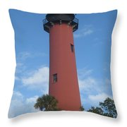 Standing Up Above The Trees Throw Pillow