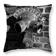 Standpipe Throw Pillow