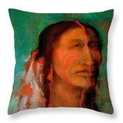 Stands Tall Throw Pillow by Johanna Elik