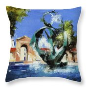Stanford Claw Throw Pillow