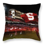 Stanford Nocturne Throw Pillow