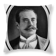 Stanford White (1853-1906) Throw Pillow