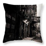 Staple Street - Tribeca - New York City Throw Pillow by Vivienne Gucwa