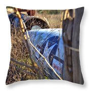 Star And Bars Throw Pillow