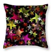 Star Belt Throw Pillow