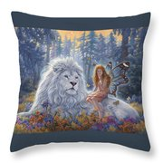 Star Birth Throw Pillow